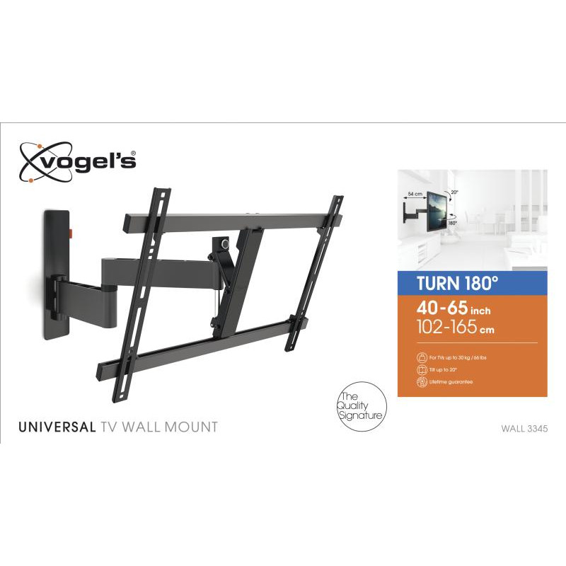 Support tv orientable 40-65p VOGEL S WALL3345BLACK